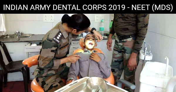 Indian Army Dental Corps 2019 Neet Mds Indian Army Interview Preparation Dental
