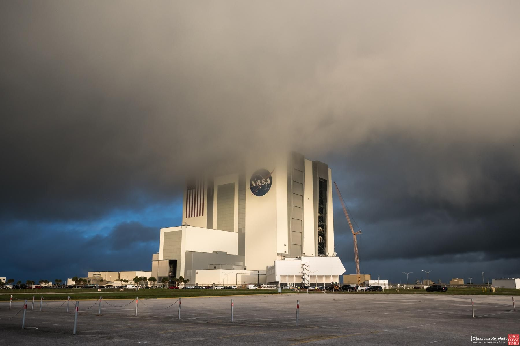 I Took A Photo Of Nasa S 525 Foot Tall Vehicle Assembly Building