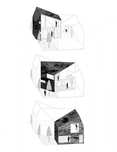Lv House Nemestudio D W G Pinterest House Diagram