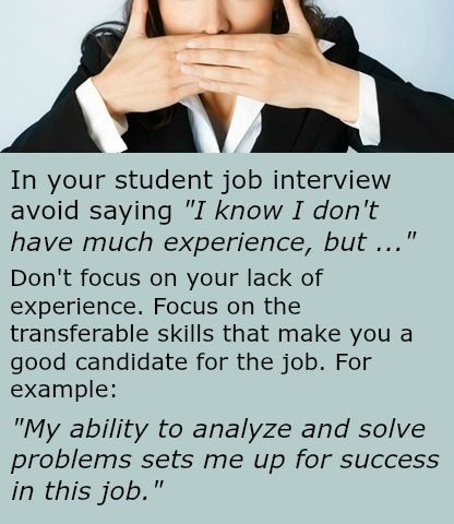 Student Job Interview Guide - all you need to know Job Search - sample interview questions and answers