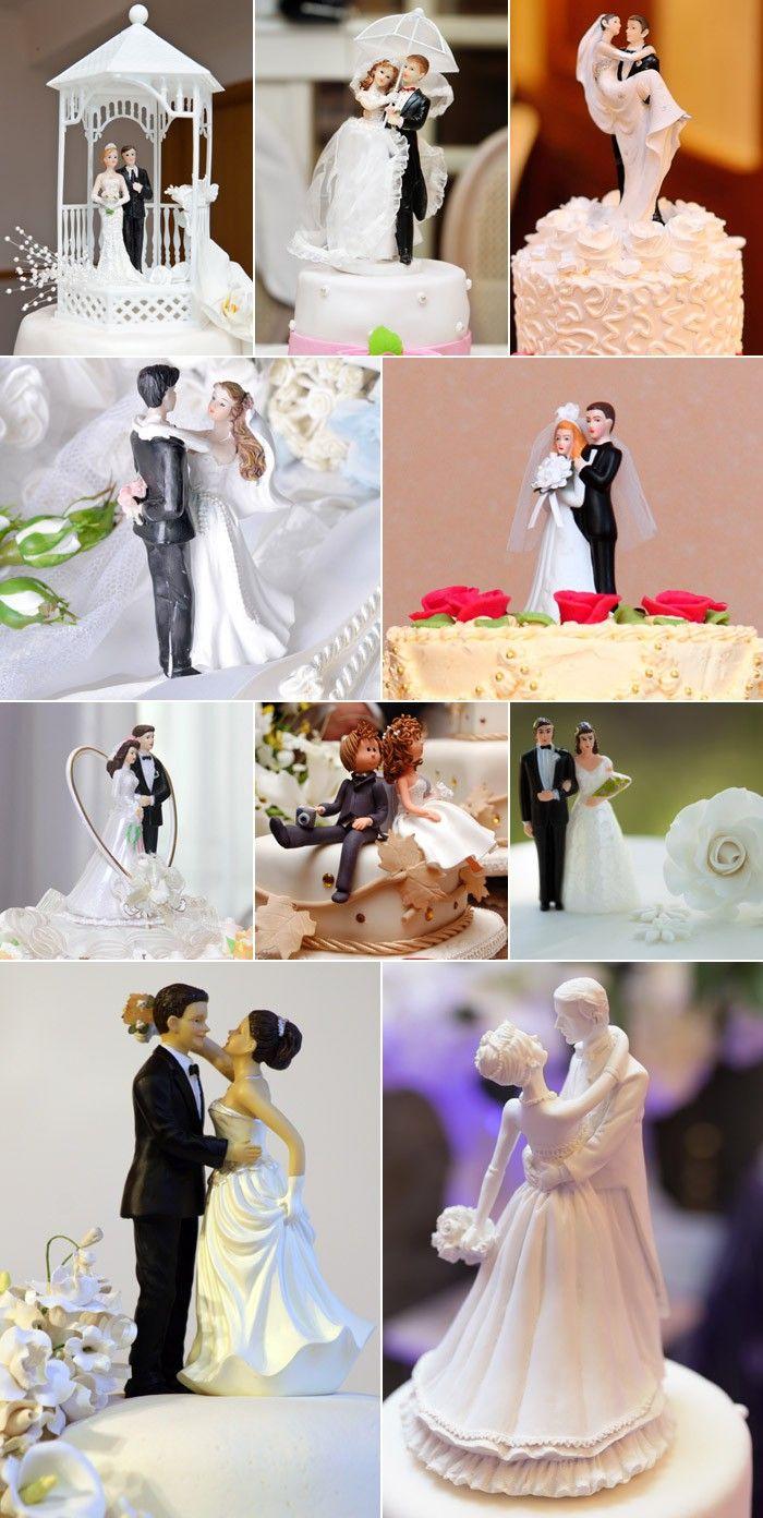 Hochzeitstortenfiguren Inspirationen Viele Beispiele Pinterest