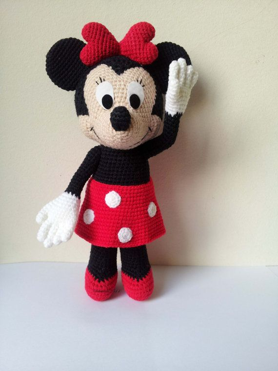 Minnie Mouse 9 Handmade crochet doll birthday by Solutions2511 ...