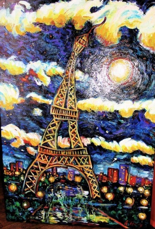 Eiffel Tower / Starry Night