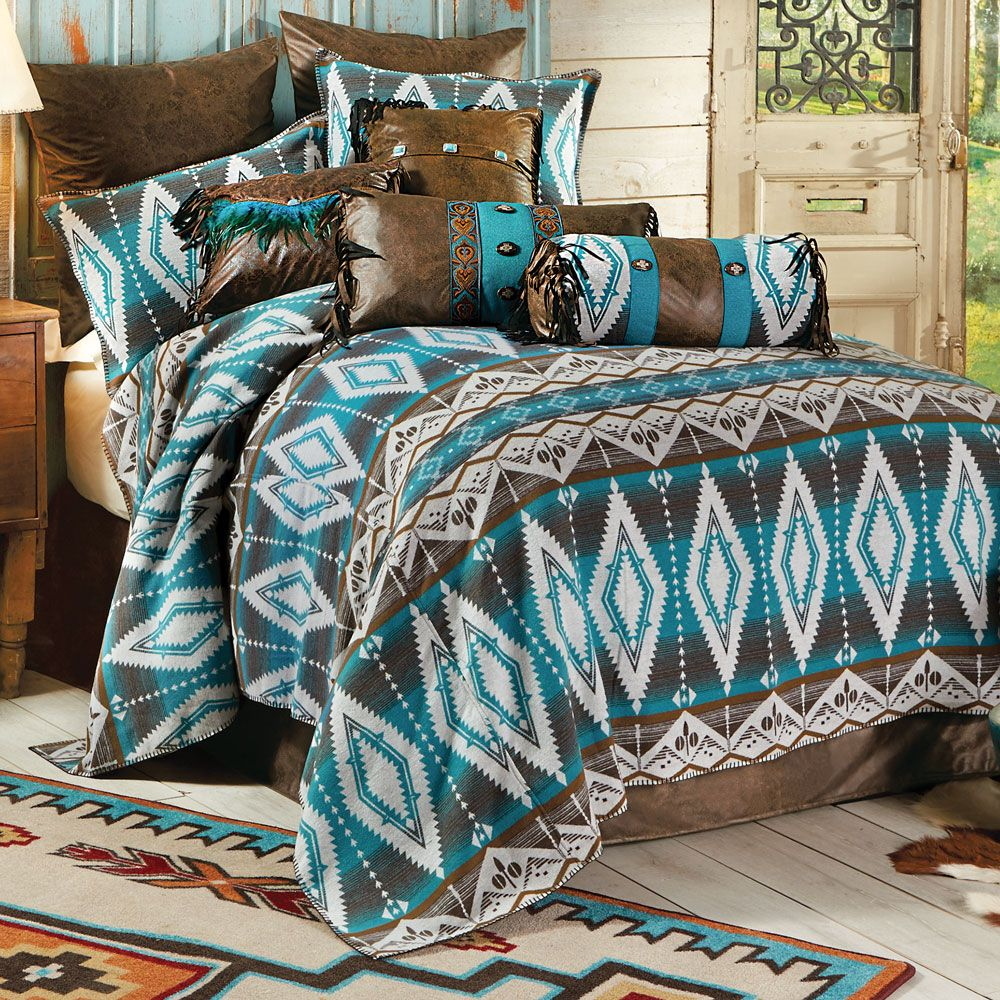 Turquoise Earth Bed Set Queen Bedding sets, Dorm