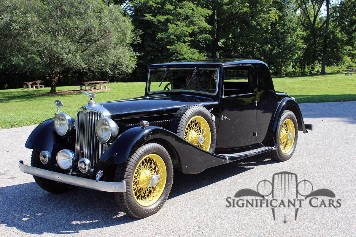 1936 Other Makes AC 16/60 Doctor\'s Coupe | Motor car and Cars