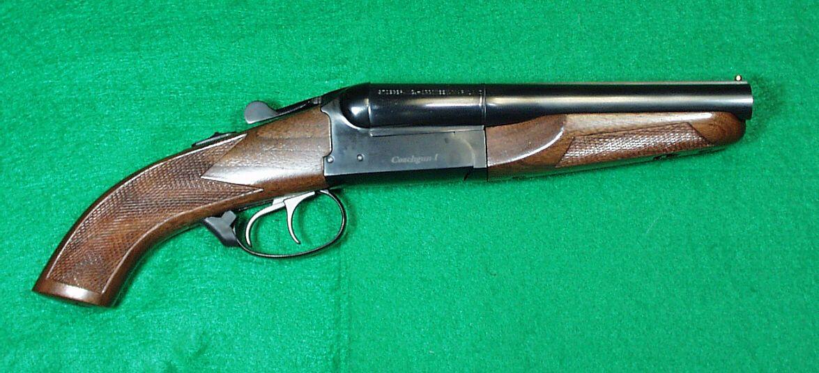 Double Barrel Shotguns | Thread: Short single/double barrel