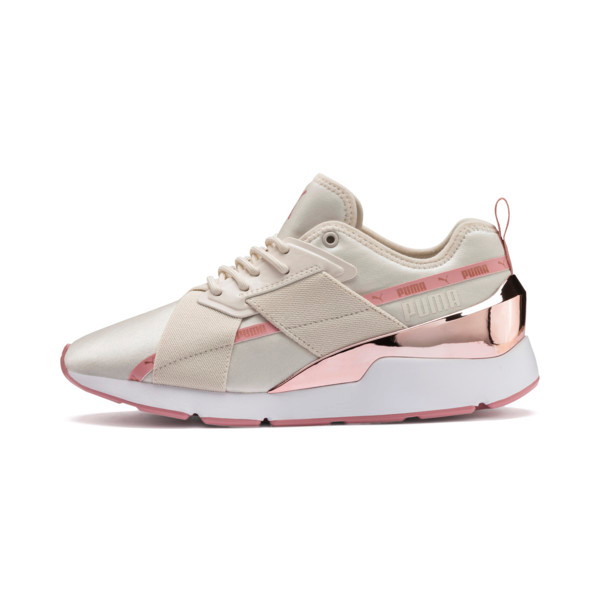 Muse X 2 Metallic Women's Sneakers | White puma shoes, Pumas