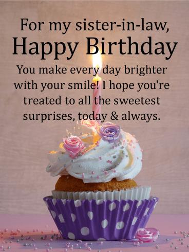Heartfelt Happy Birthday Card For Sister In Law Birthday Greeting Cards By Davia Happy Birthday Wishes Sister Birthday Wishes For Sister Sister Birthday Card