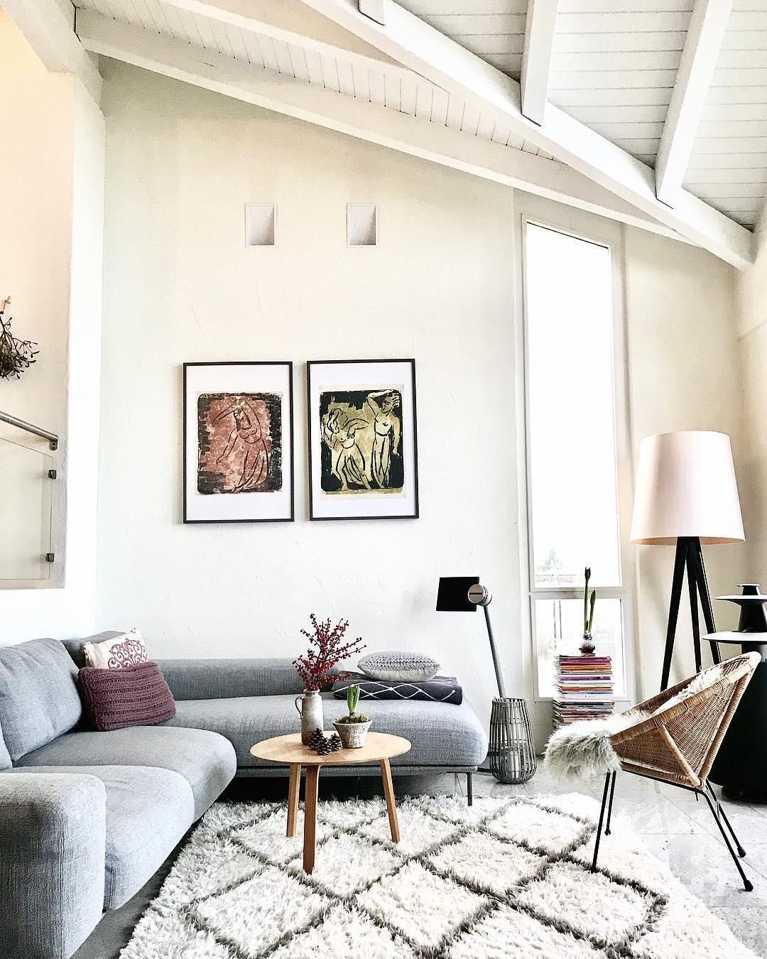 Handgetufteter Wollteppich Tiflet | Pinterest | Teppich wohnzimmer ...