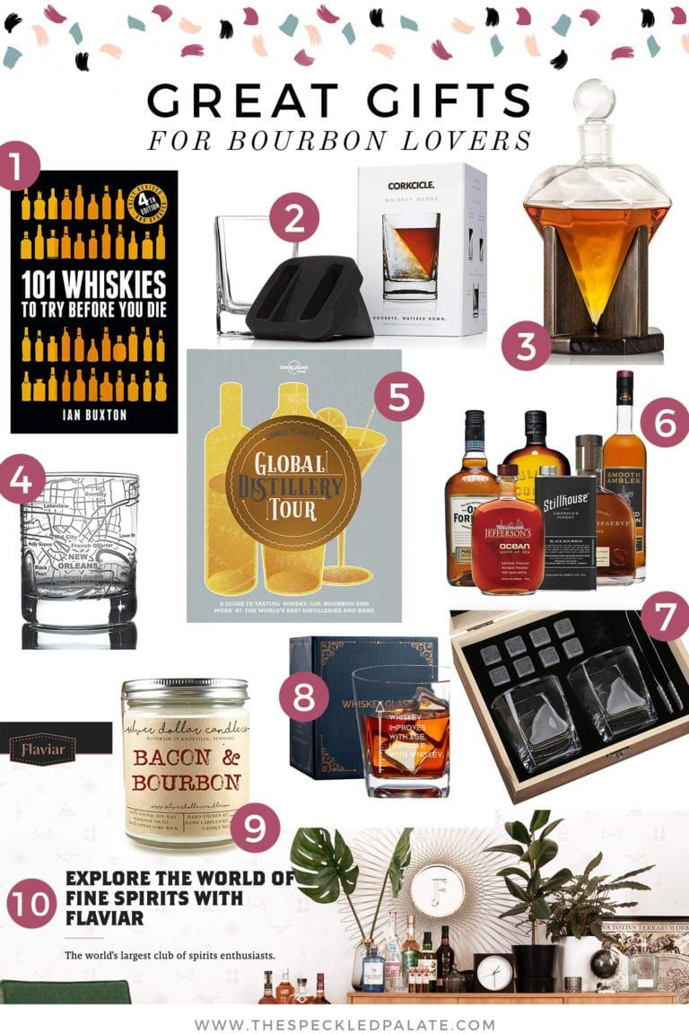 Great gifts for bourbon lovers bourbon gifts whiskey