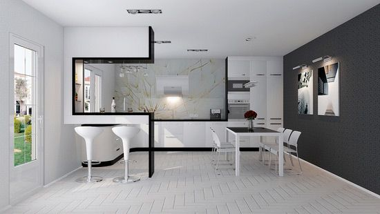 High Tech Interior broker Pinterest Interiors Lofts and Kitchens