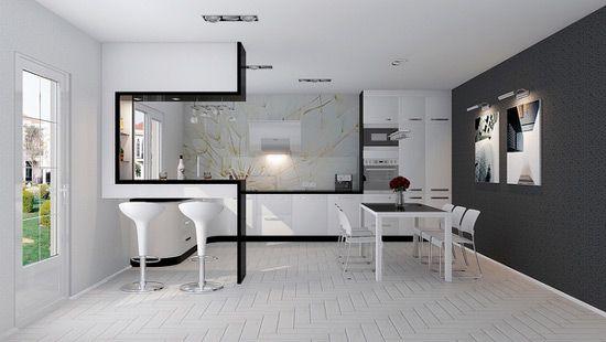 high tech interior design ideas