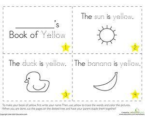 Printable Coloring Booklets Learning Colors Preschool Preschool Worksheets Free Printables Shape Worksheets For Preschool
