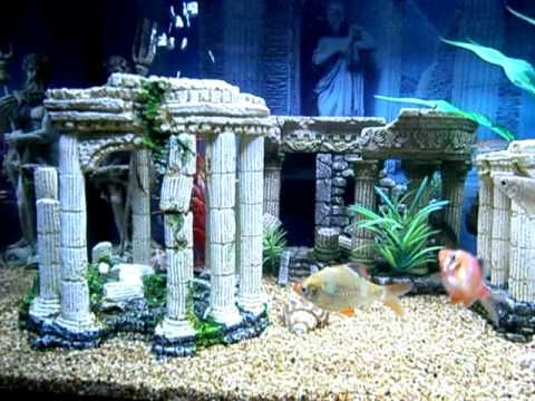 How To Make Greek Decorations Ancient Greek Decor Aquarium Video