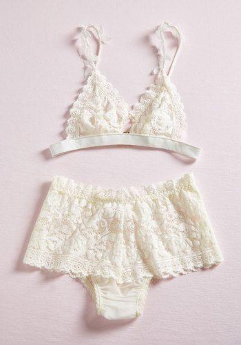 Love Story of My Life Bralette | Mod Retro Vintage Underwear | ModCloth.com