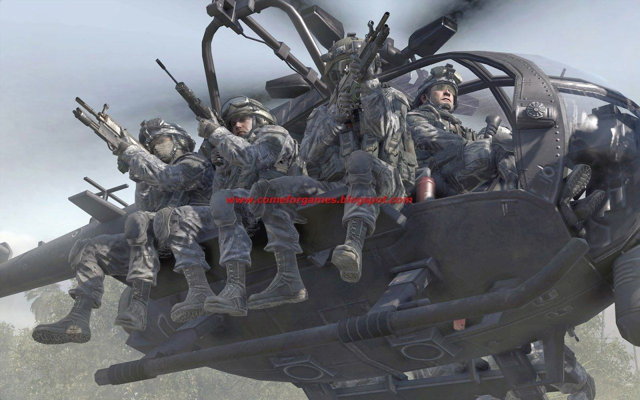 Call Of Duty Mw2 Forcas Especiais Helicoptero Hd 1080p