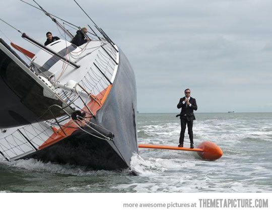 Classy sailing