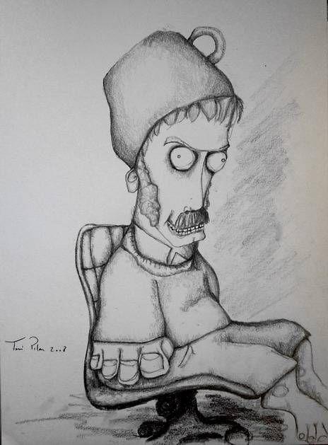 Dibujos Locos A Lapiz Imagui Illustration Art Male Sketch