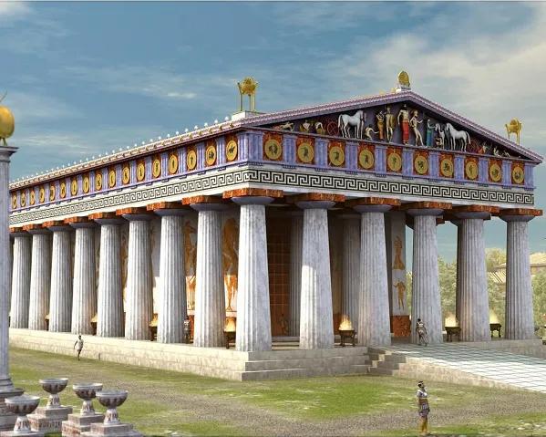 Maravillas Del Mundo Antiguo Templo De Artemisa En Efeso Sobrehistoria Com Grecia Arquitectura Arquitectura De La Antigua Grecia Arquitectura Griega Clasica