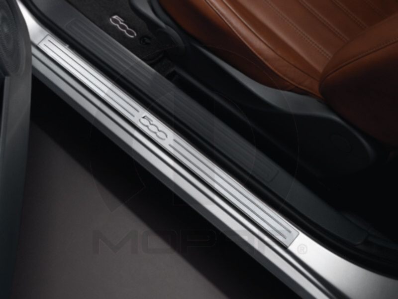 Door Sill Guard With Images Fiat 500 Fiat New Fiat