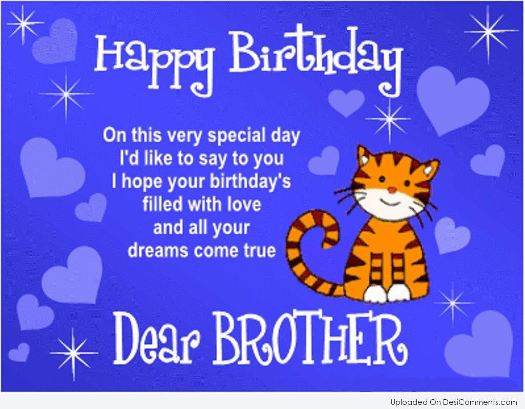 Birthday Wishes For Brother 20 Ideas For Birthday Quotes For