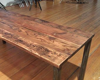 Minimal Design Rustic Dining Table from Urban Beaver's collection.