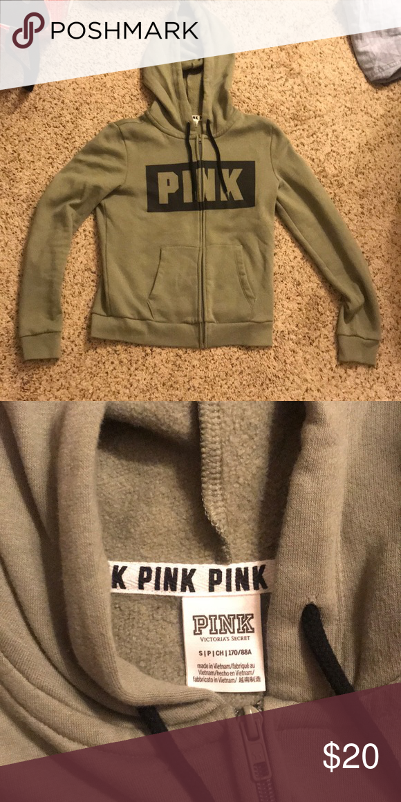 a1e8bfaad01d5 PINK zip up hoodie in 2018 | My Posh Closet | Pinterest | Pink zip ...