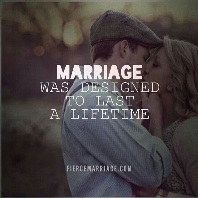 Marriage Gods Way - for a lifetime
