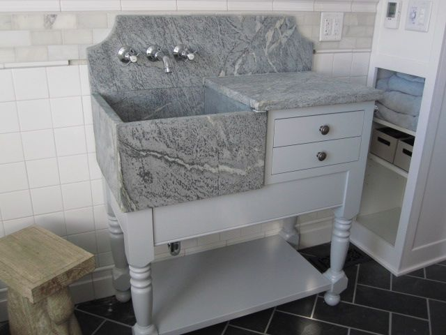 Mimiu0027s Vintage Charm: Empire Dresser And A Custom Bathroom Vanity.