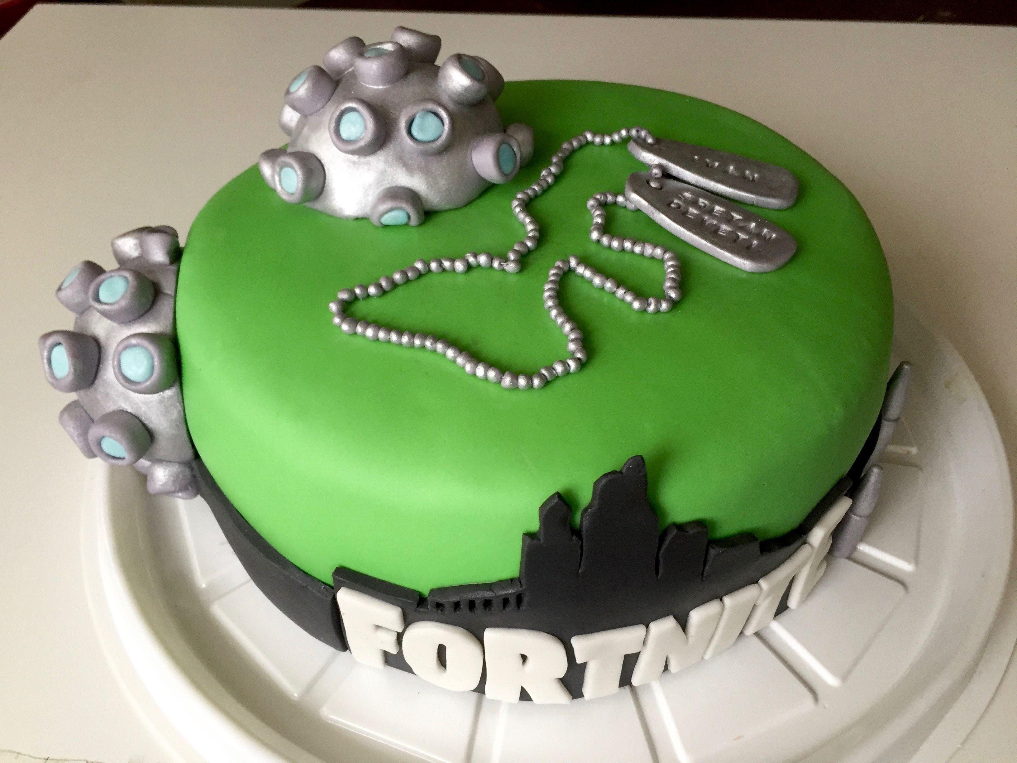 Fortnite Cake How To Make Bomb Very Easy