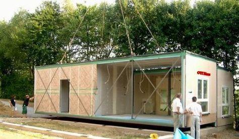 modulhaus ovi haus fertighaussysteme einrichtungen pinterest wohncontainer mobiles haus. Black Bedroom Furniture Sets. Home Design Ideas