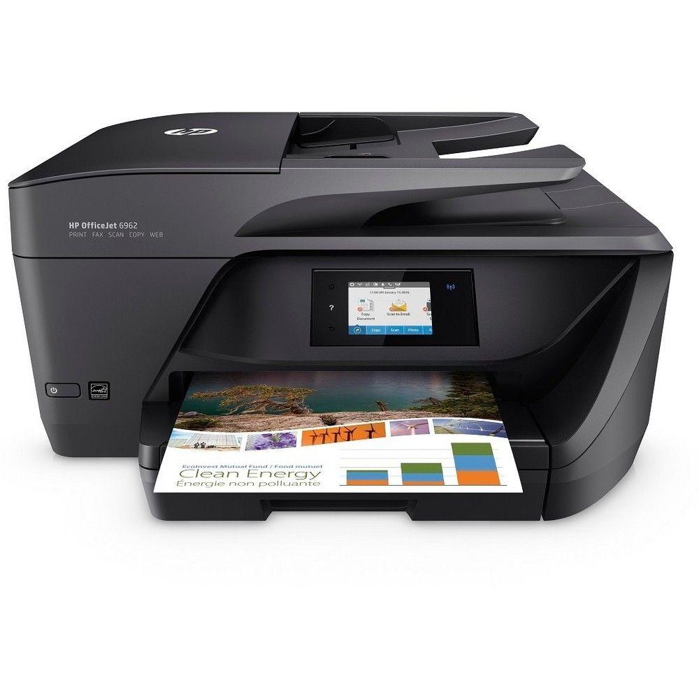 HP Color Multifunction Officejet 6962 Printer Black