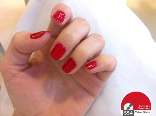 Nail Art #3 ~ Rojo, color superheroína
