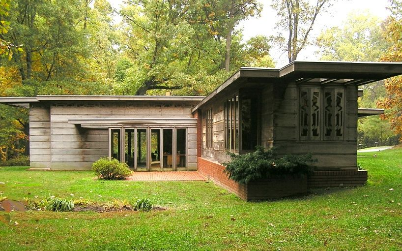A Visit With Frank Lloyd Wright Usonian House Architecture