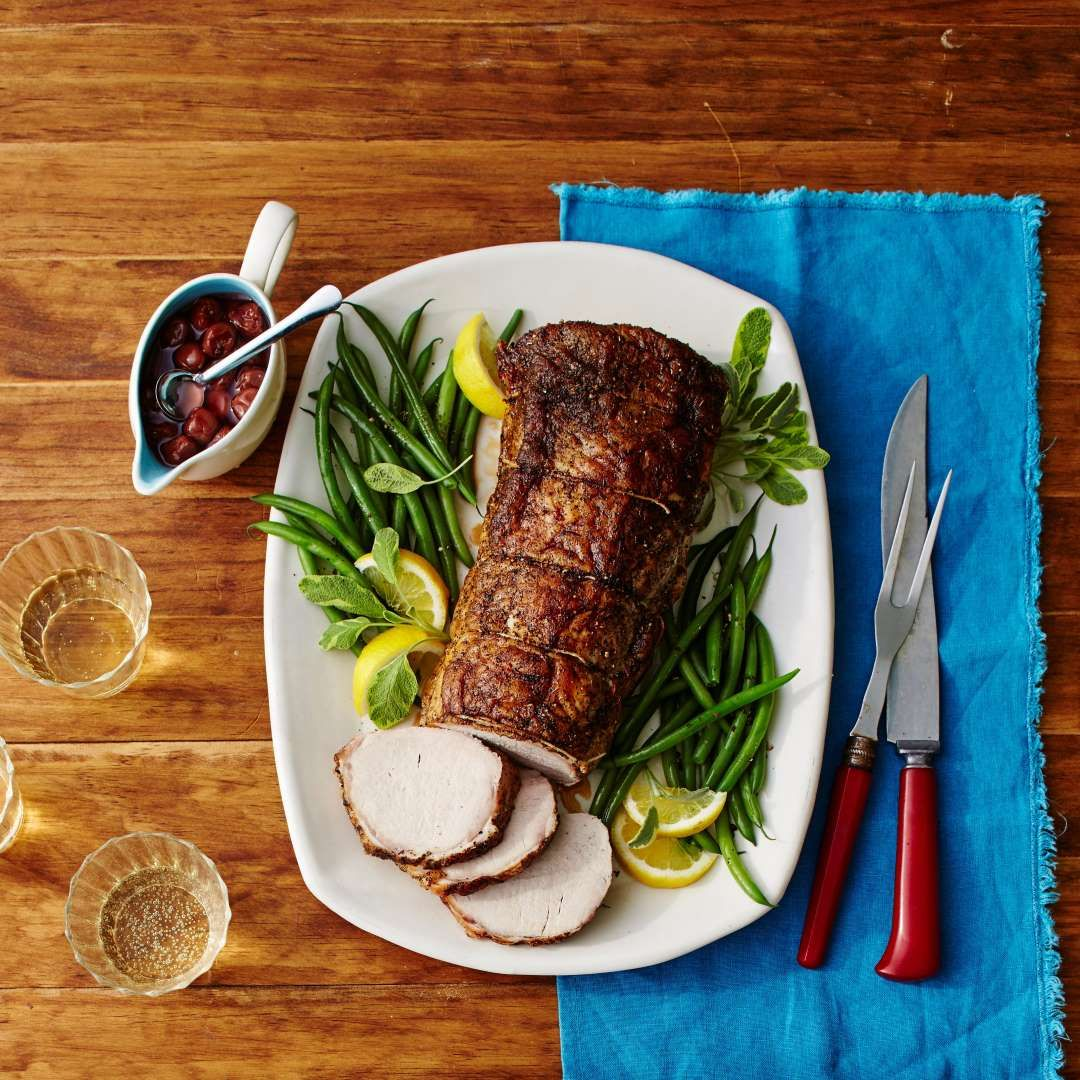 Recipe roast pork with spiced cherry sauce laurey w glenn recipe roast pork with spiced cherry sauce laurey w glenn southern christmasthe christmaschristmas foodschristmas forumfinder Choice Image
