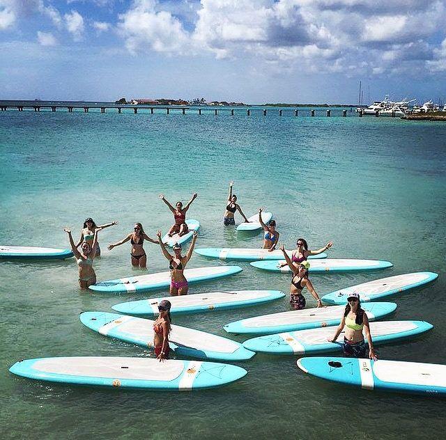 Aruba Sup Yoga Girls