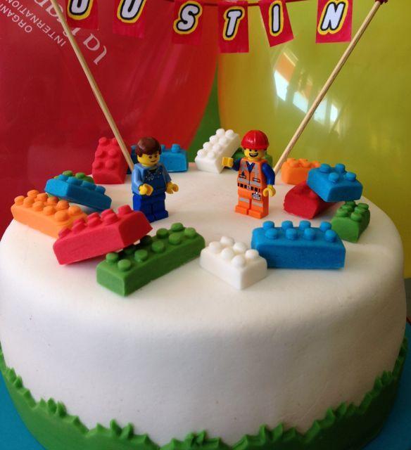 gâteau d'anniversaire lego, recette de gâteau d'anniversaire lego