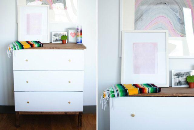 ikea tarva dresser refinished. DIY Dresser Projects - Ikea Hack Ideas Tarva Refinished