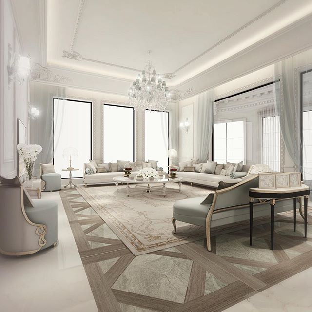 New Home Designs Latest Luxury Living Rooms Interior: Abudhabi, Qatar, Dubai
