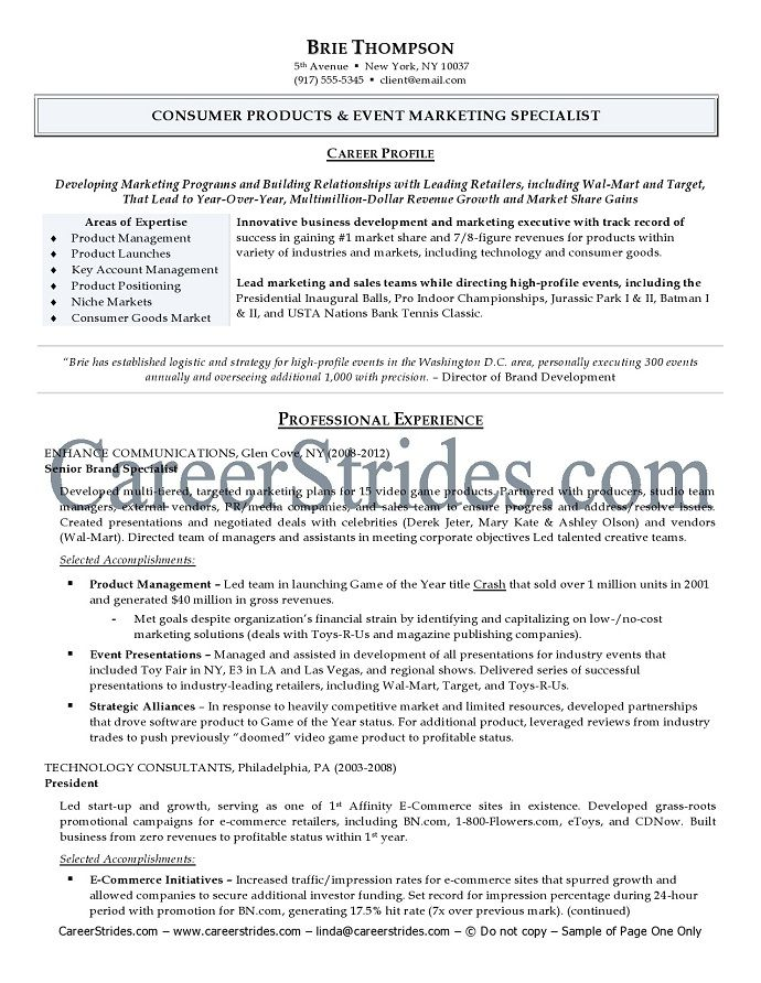 product service manager resume sample senior translation the - sample marketing specialist resume