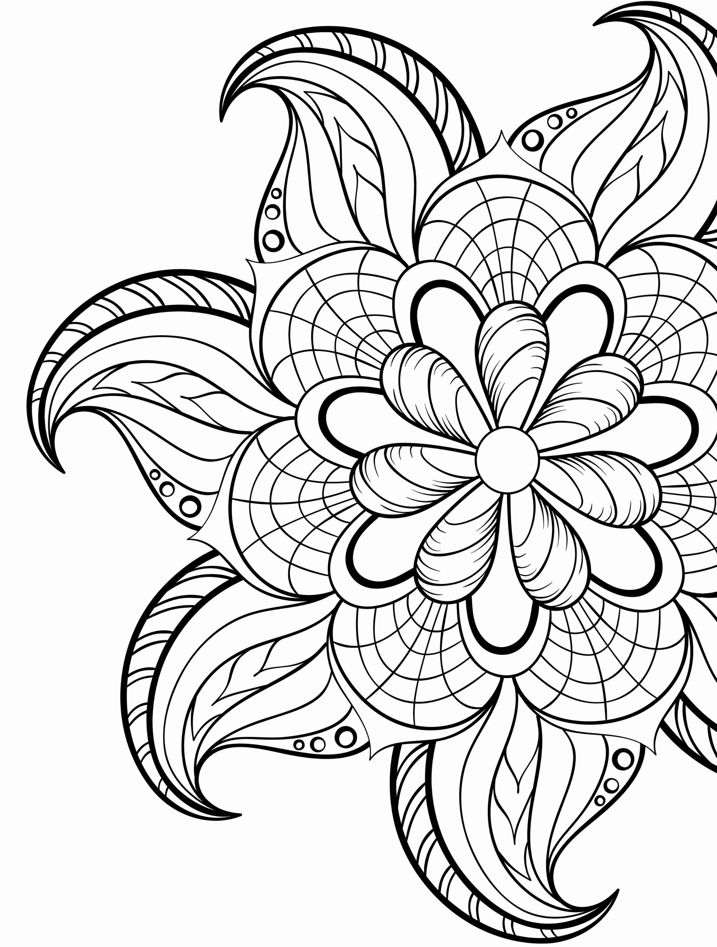 - Simple Flower Coloring Book Pdf Printable Flower Coloring Pages, Abstract  Coloring Pages, Mandala Coloring Pages