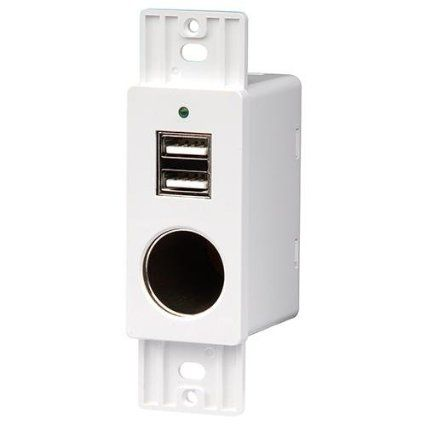 Robot Check Sockets Usb Plates On Wall