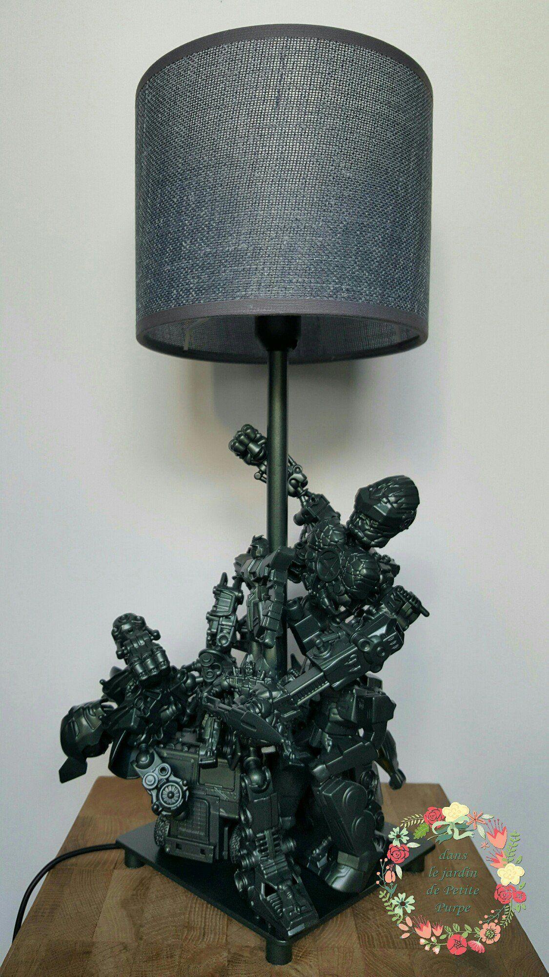 Lampe Figurines D Action By Dans Le Jardin De Petite Purpe Cr Ation De R ºves Feature 100 Brand New And H Led Light Box Figurines D Action Decorative Items