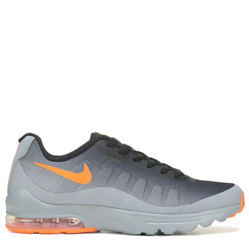 the best attitude a9d2c 676ef Nike Kids  Air Max Invigor Running Shoe Grade School Shoes  (Grey Black Orange) - 4.5 M
