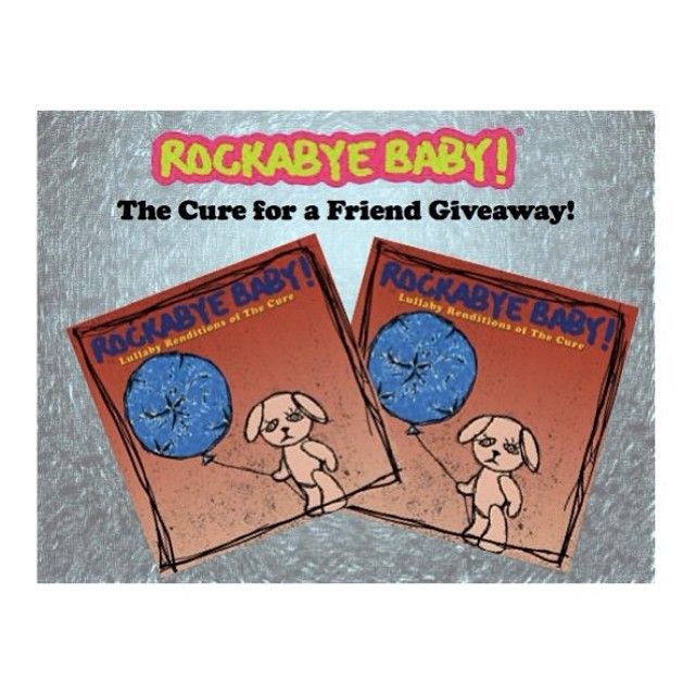 Don't forget to enter our Cure for a Friend giveaway! Head over to the blog for a chance to win TWO copies of Lullaby Renditions of The Cure (giveaway ends 4/27) http://rocka.by/Blog4RB ‪#‎thecure‬ ‪#‎robertsmith‬ ‪#‎giveaway‬
