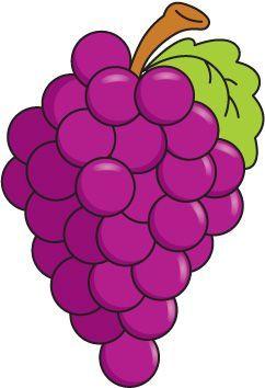 foto de Imagen relacionada Dibujos de frutas Dibujos frutas y verduras Uvas animadas