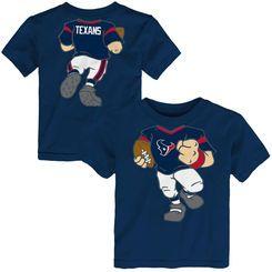 291a8186 Toddler Houston Texans Navy Football Dreams T-Shirt   football shirt ...