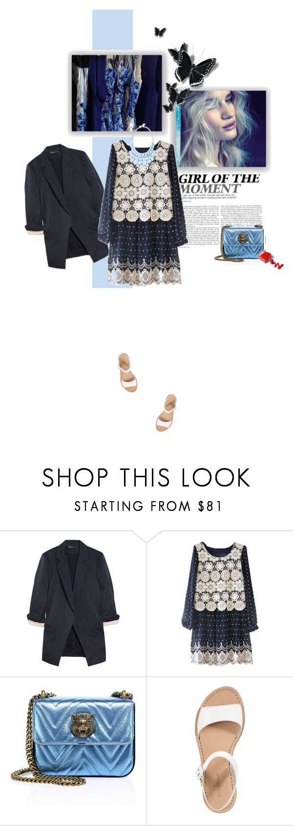 """""""Uno sguardo al passato"""" by piccolauby ❤ liked on Polyvore featuring Whiteley, Elizabeth and James, 10 Corso Como, Gucci and Cole Haan"""
