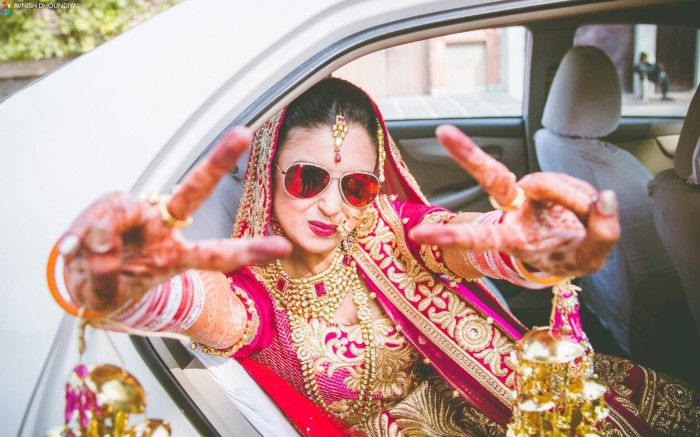 Beautiful bride    Beautiful   Weddingplz   Wedding   Bride   Groom   love   Fashion   IndianWedding    Beautiful   Style