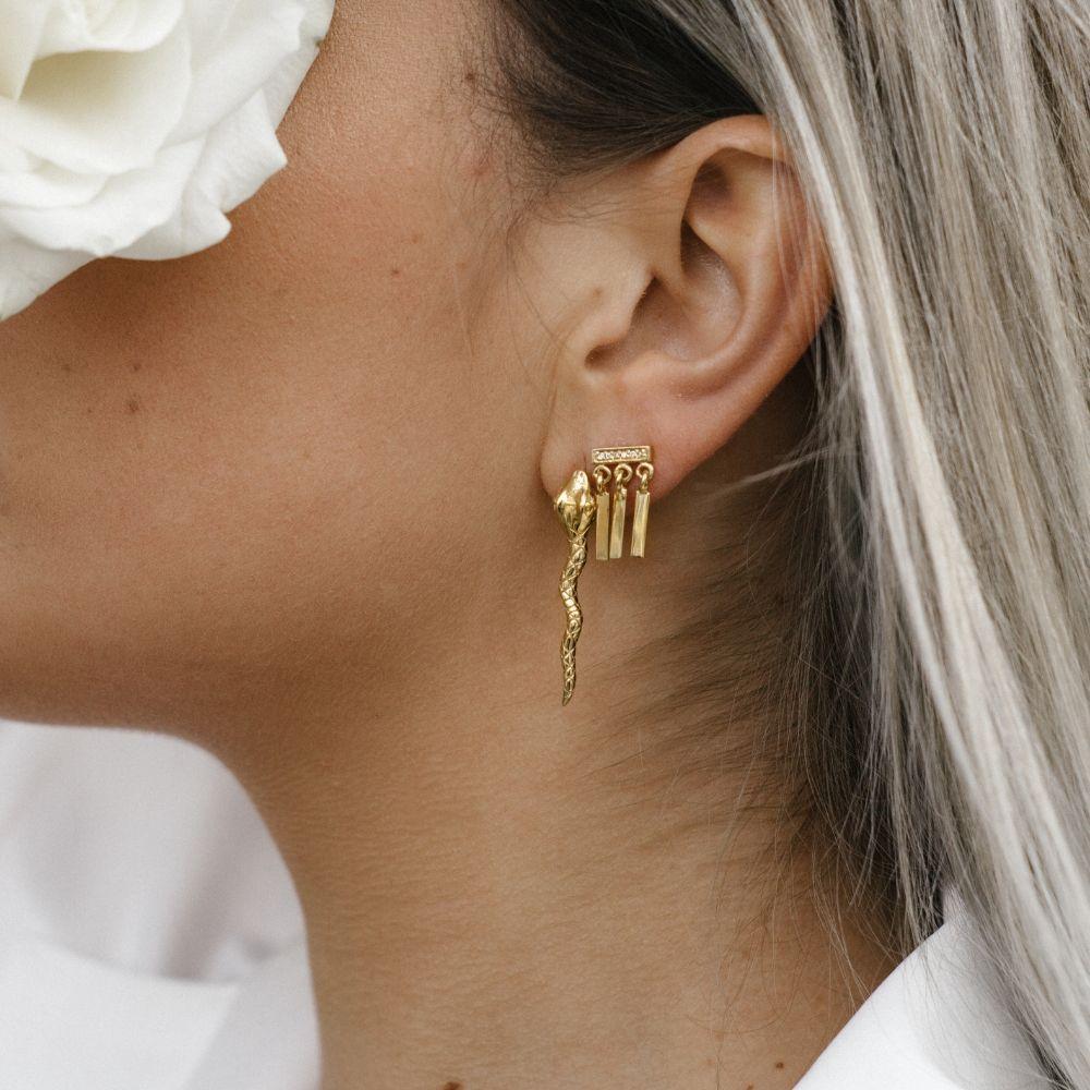 301a4fffc Eline Rosina   Earspiration   Gold   Earparty   Earcandy   Earrings   Ear  studs
